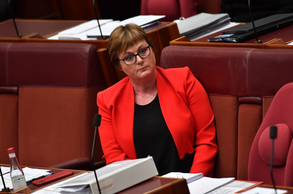 Article image for Jacqui Lambie declares Morrison government has 'no choice' but to dump Linda Reynolds