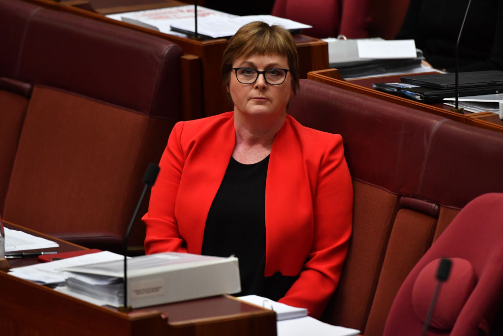 Article image for Linda Reynolds admitted to hospital amid parliament rape allegation scandal