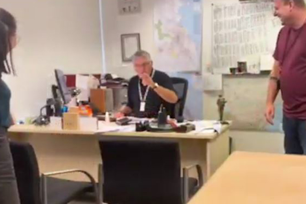 Article image for WATCH | Ray Hadley pranked by his own team