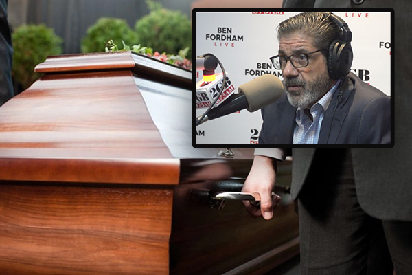 Article image for Funeral boss apologises over horror coffin mix up