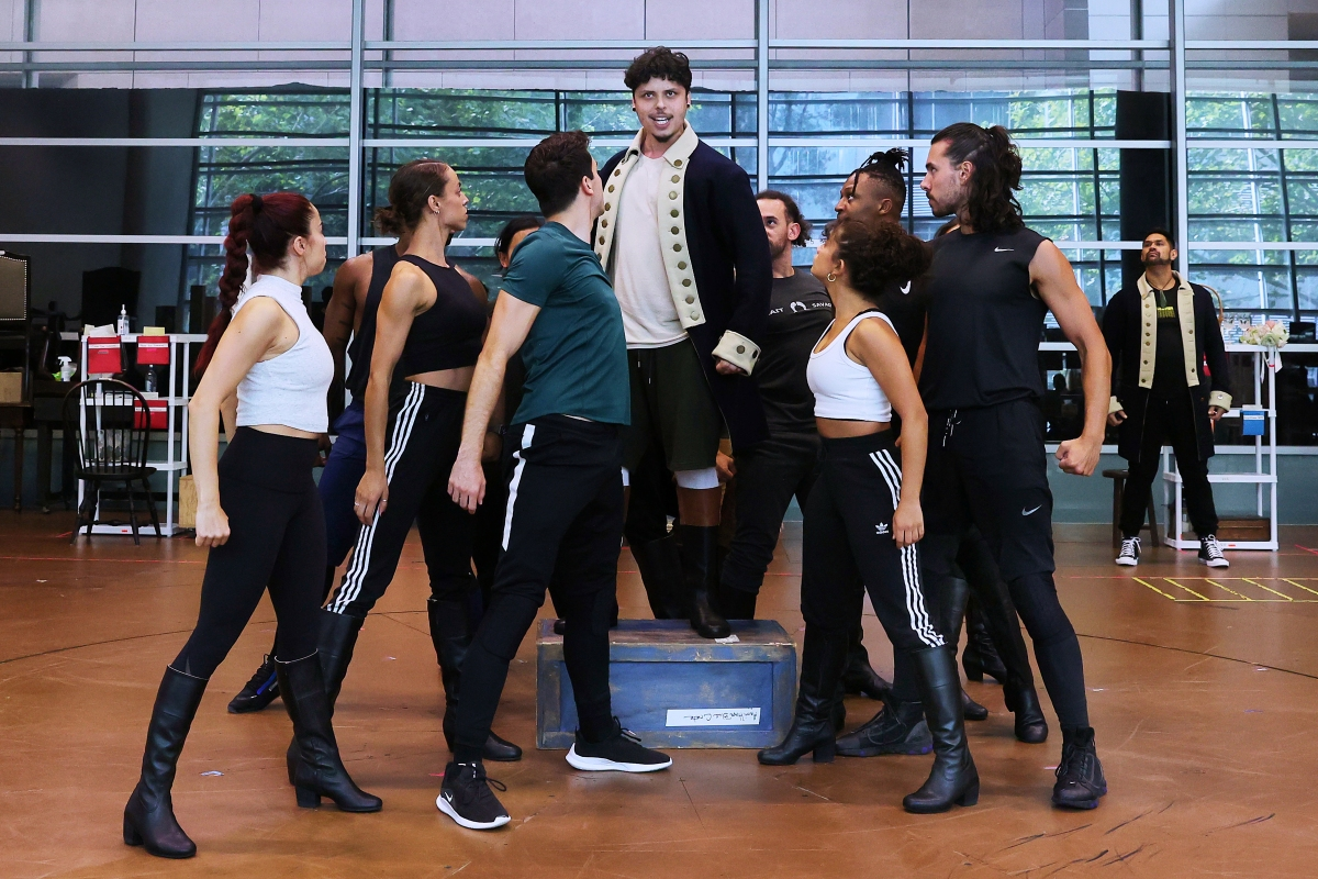 Article image for Hamilton choreographer 'blown away' by Aussie talent
