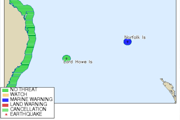 Article image for NZ tsunami threat downgraded after North Island earthquakes