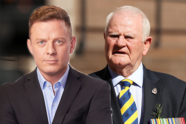 Article image for 'Man up!': Ben Fordham challenges RSL boss on ANZAC Day restrictions