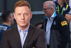 Ben Fordham slams 'keyboard cowards' attacking PM for going to the footy