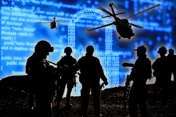 Article image for Air, land, sea and cyberspace: Australia to fight wars on new battlefield