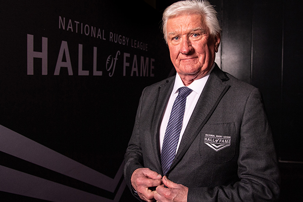 Article image for Ray Warren surprised on-air by offer to replace stolen Hall of Fame ring