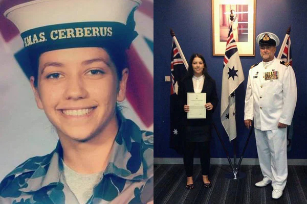 Article image for Grieving father's powerful warning to ADF recruits after losing his daughter to suicide