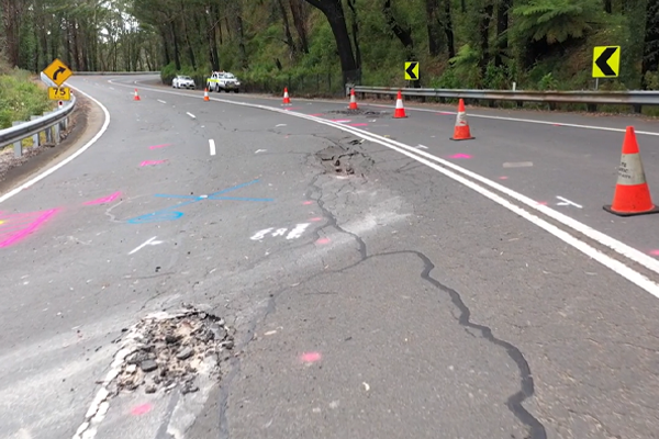 Article image for Bells Line of Road reopening pushed back after rain reveals new risk