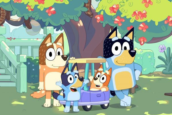 Article image for Children's show 'Bluey' dogged by diversity critique