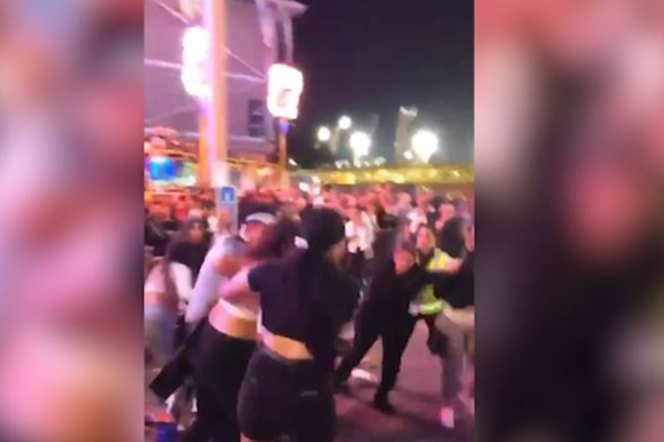 Article image for WATCH   Brawl breaks out at Sydney Royal Easter Show