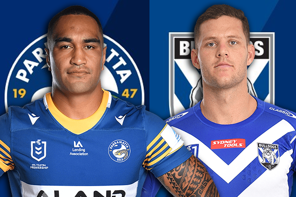 Article image for Parramatta Eels wary of Bulldogs' 'confidence high' ahead of Saturday grudge match