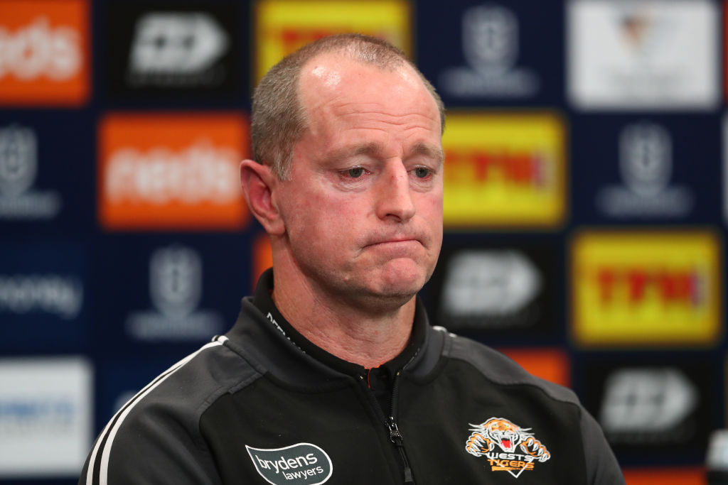 Article image for 'I haven't been tapped': Tigers coach defends position following consecutive defeats