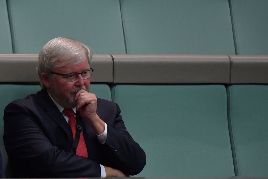 Article image for Kevin Rudd's spontaneous trial as a ride-share driver