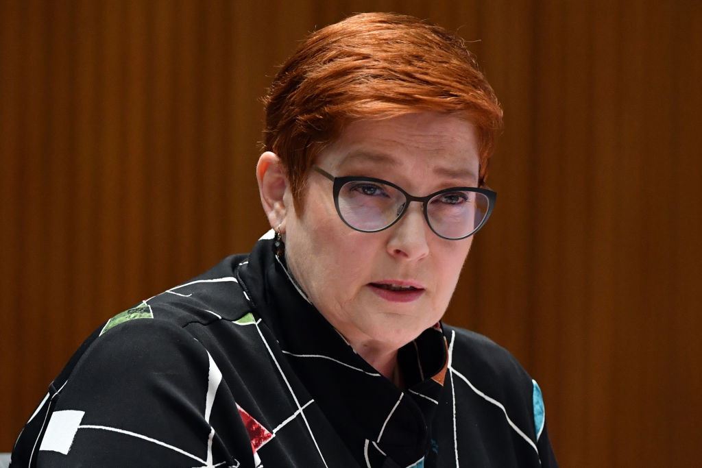 Article image for Marise Payne contends tokenism claims dogging women's taskforce