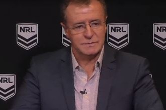 Article image for Graham Annesley admits Lachlan Lewis should have been taken off immediately