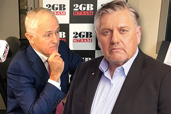 Article image for 'Simply disgraceful!': Ray Hadley 'exposes' Malcolm Turnbull