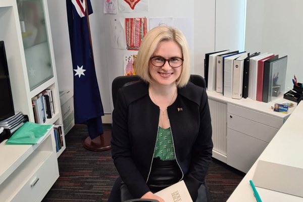 Article image for 'It's utter nonsense': Assistant Women's Minister rejects Grace Tame's criticism