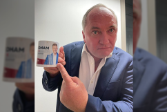WATCH   Barnaby Joyce's amusing reaction to Nationals leadership question