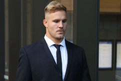Jack de Belin and Callan Sinclair found not guilty, hung jury on remaining charges
