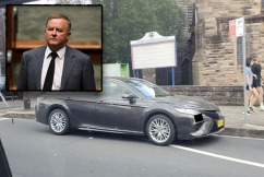 CAUGHT OUT | Albo sprung parking illegally in Sydney