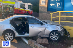 Fire crews extract pair trapped in Inner West crash