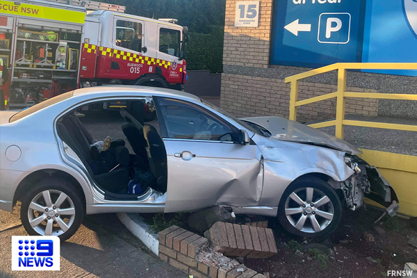 Article image for Fire crews extract pair trapped in Inner West crash
