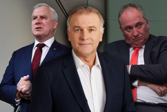 'Our bush deserves the best': National Party's cupboard bare of leadership potential