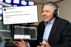 Ray Hadley gives ABC journalist a lesson in Aussie vernacular