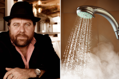 Shane Jacobson reveals dramatic proposal to end long hot showers