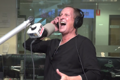 Todd McKenney's electrifying in-studio tribute to man who put him 'on the map'