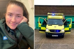 NHS paramedic's powerful plea from across the pond goes viral