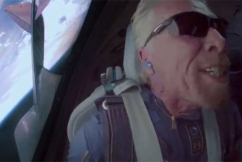 Did Richard Branson really fly to space? It's debatable