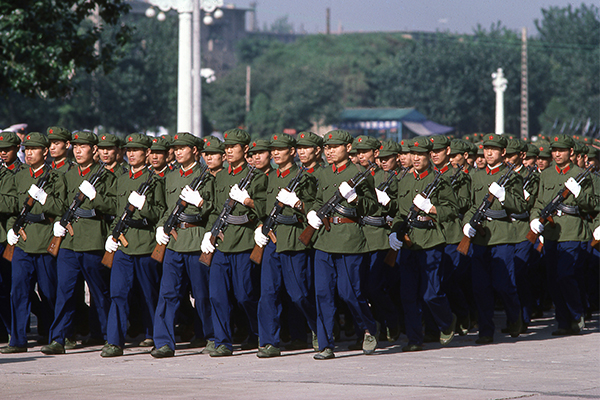 Article image for 'Real international event': Warning China ready for war in six years