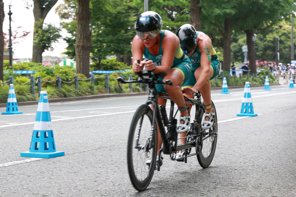 Article image for Paralympic triathlete honoured to join 'the mob' again for Tokyo 2020