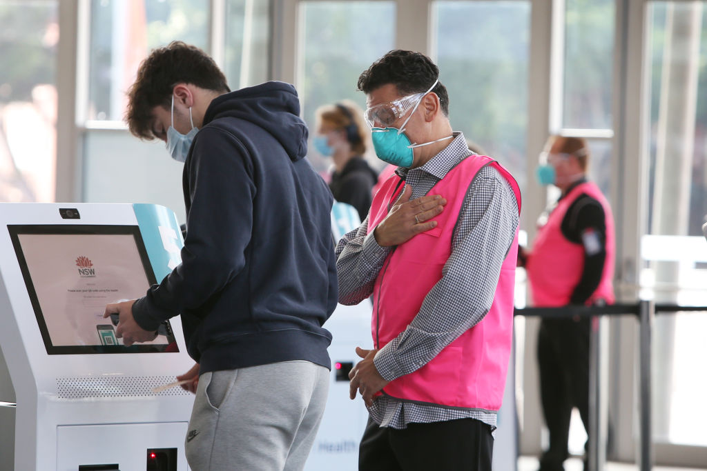 Article image for Year 12 student commends 'quick and organised' mass vaccination operation