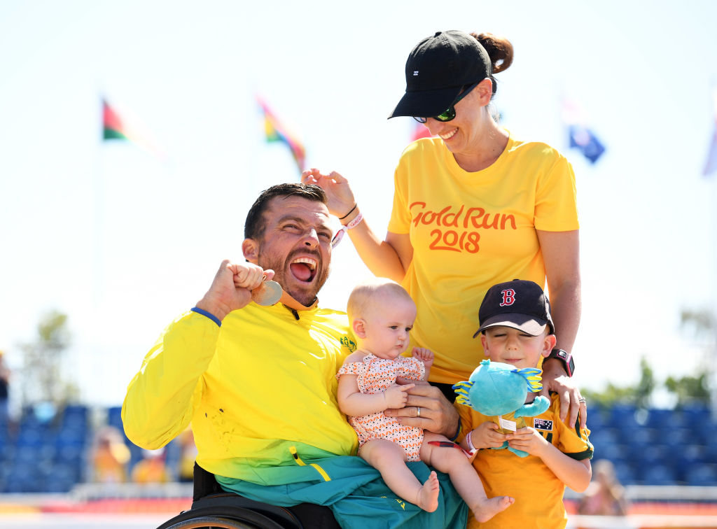 Article image for The moment that changed Paralympic sport forever for departing CEO