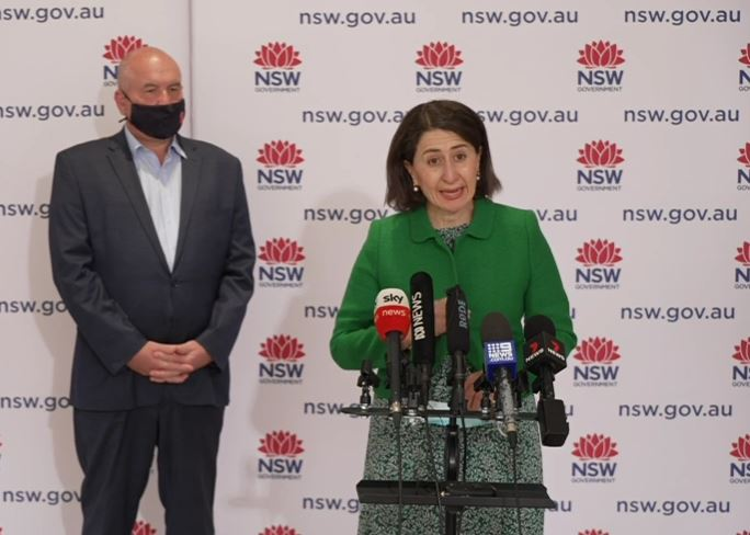 Article image for NSW goes into state-wide lockdown with non-compliance fines increased
