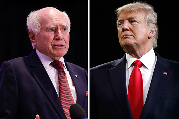 Article image for John Howard says Donald Trump 'can't escape blame' on Afghanistan crisis
