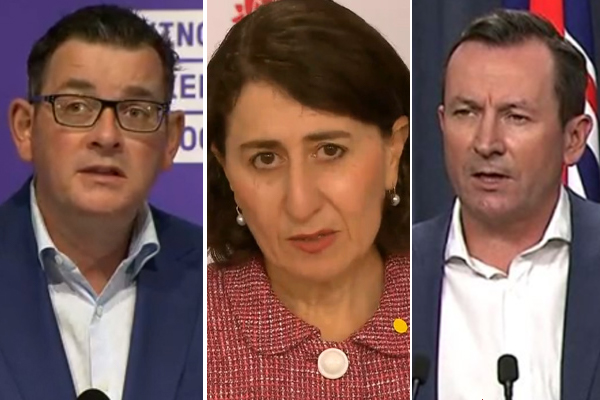 Article image for 'Same old drivel': Jim Wilson tears into 'bickering' premiers failing as leaders