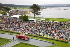 70th annual Pebble Beach Concours – a week for the enthusiast.