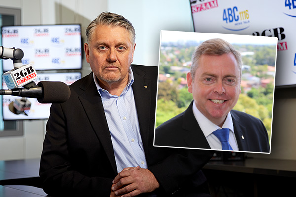 Article image for Ray Hadley 'disappointed' in Corrections Minister Anthony Roberts