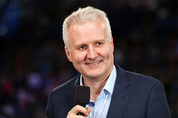 Article image for Andrew Gaze explains why he broke down amid Boomers' Olympic win