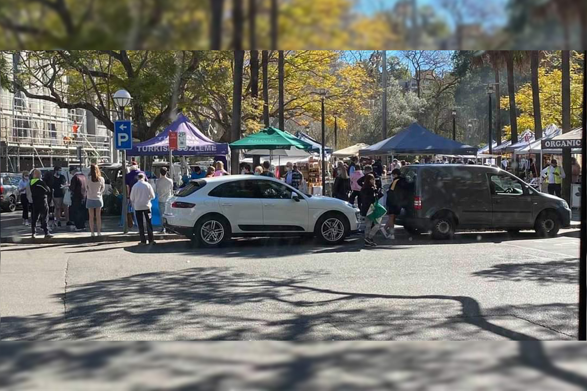 Article image for Crowd at Double Bay markets 'beggars belief'