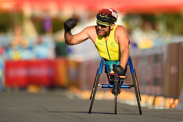 Article image for Paralympic champion Kurt Fearnley offers sage advice to paralympians