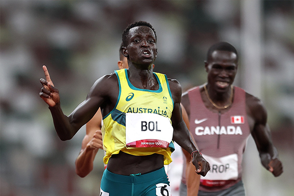 Article image for Australian athlete Peter Bol shoots for Olympic glory in sport he never knew existed
